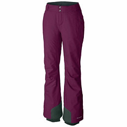 Columbia Bugaboo Omni-Heat Pant - Plus Size Womens Ski Pants, Dark Raspberry, 256