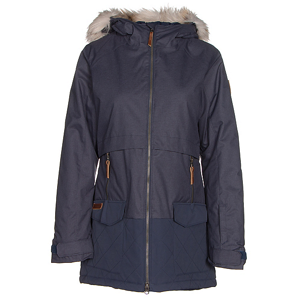 Columbia Catacomb Crest Parka w/Faux Fur Womens Insulated Ski Jacket, , 600