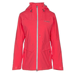 Columbia Carvin Womens Insulated Ski Jacket, Red Camellia, 256