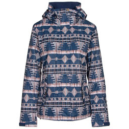 Roxy Jetty Womens Insulated Snowboard Jacket, Akiya Print, 256