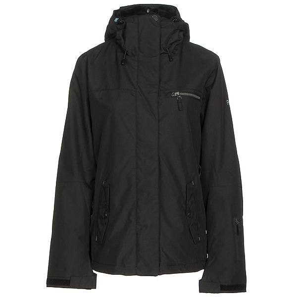 Roxy Jetty 3N1 Womens Insulated Snowboard Jacket, True Black, 600