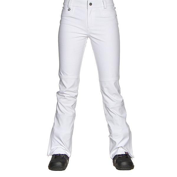 Roxy Creek Womens Snowboard Pants, Bright White, 600