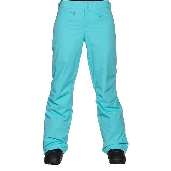 Roxy Backyard Womens Snowboard Pants, Blue Radiance, 600