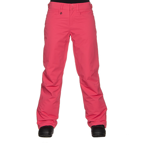 Roxy Backyard Womens Snowboard Pants, Paradise Pink, 600