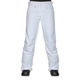 Roxy Backyard Womens Snowboard Pants, Bright White, 256