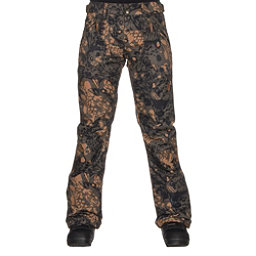 Roxy Nadia Printed Womens Snowboard Pants, Butterflycamo, 256