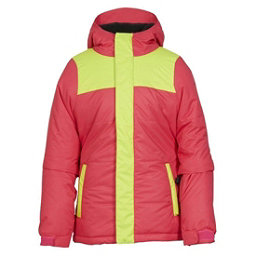 686 Ella Insulated Girls Snowboard Jacket, Fuschia Colorblock, 256