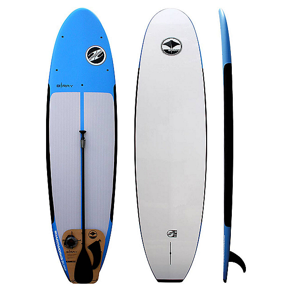 Boardworks Surf B-Ray 10'6 Stand Up Paddleboard Package, , 600