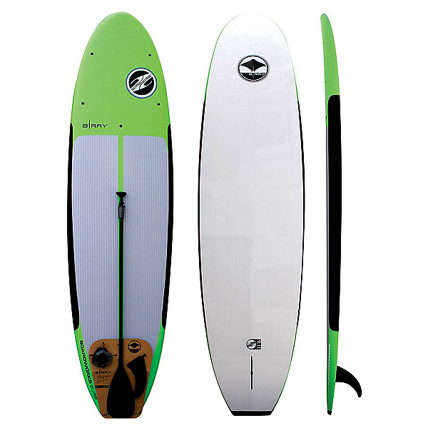 Boardworks Surf B-Ray 10'6 Stand Up Paddleboard Package 2017, , 600