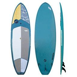 Boardworks Surf Kraken 10'3 Stand Up Paddleboard 2017, Wood-Steel Blue, 256