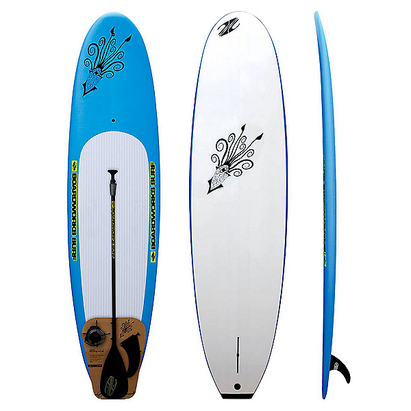 Boardworks Surf Squid Youth 9' Stand Up Paddleboard Package, , 600