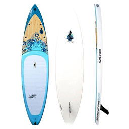 Boardworks Surf Sirena 10'6 Touring Stand Up Paddleboard, Wood-Blue, 256