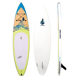 Boardworks Surf Sirena 10'6 Touring Stand Up Paddleboard, Wood-Light Yellow, 256