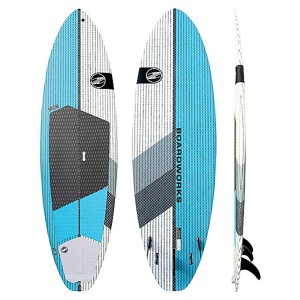 Boardworks Surf Special 9'4 Surf Stand Up Paddleboard, Teal-White, 600