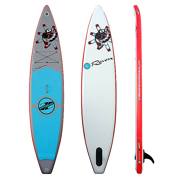 Boardworks Surf Raven 12'6 Inflatable Stand Up Paddleboard 2017, , 600