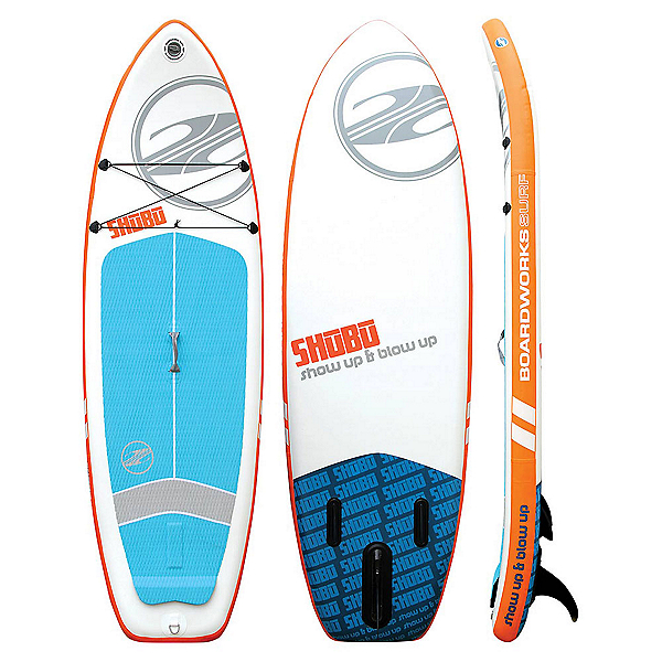 Boardworks Surf SHUBU 9'6 Inflatable Stand Up Paddleboard 2017, , 600