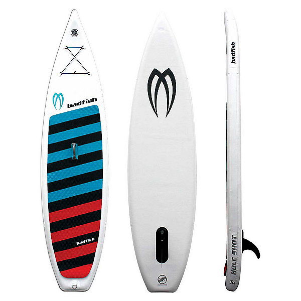 Boardworks Surf Hole Shot 11' Inflatable Stand Up Paddleboard, , 600