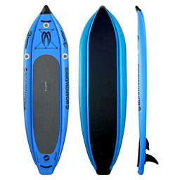 Boardworks Surf MCIT 9' Inflatable Stand Up Paddleboard, Sky Blue, 256