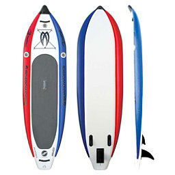 Boardworks Surf MCIT 10'6 Inflatable Stand Up Paddleboard, Red, 256