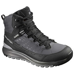 Salomon Kaipo Mid CS WP 2 Mens Boots, Black-Autobahn-Pewter, 256