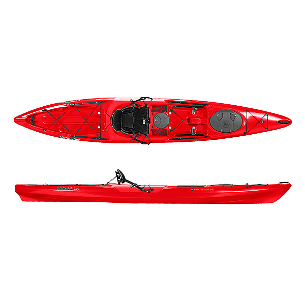 Wilderness Systems Tarpon 140 Sit On Top Kayak, Red, 600