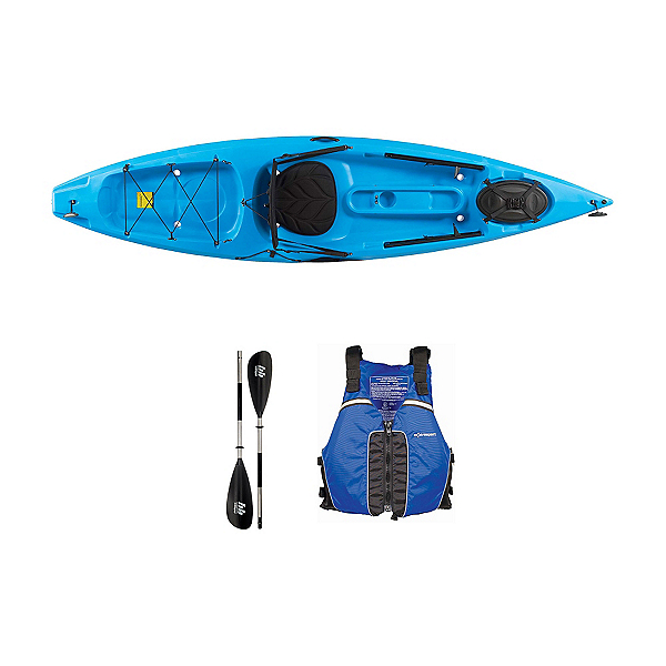 Ocean Kayak Tetra 10 Surf Blue Kayak - Sport Package, , 600