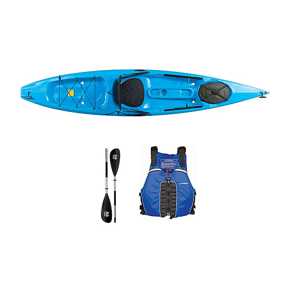Ocean Kayak Tetra 12 Surf Blue Kayak - Sport Package 2016, , 600