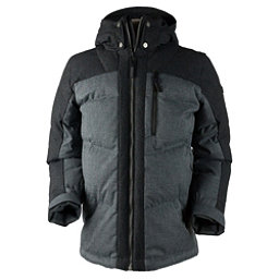 Obermeyer Gamma Down Mens Jacket, Charcoal, 256