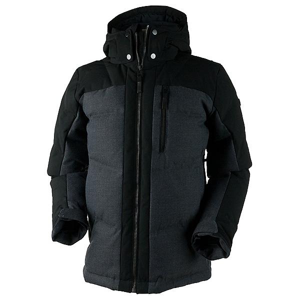 Obermeyer Gamma Down Mens Jacket, Herringbone, 600