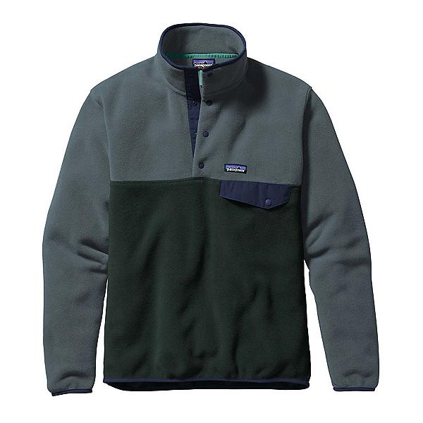 Patagonia Lightweight Synchilla Snap-T Mens Mid Layer, , 600