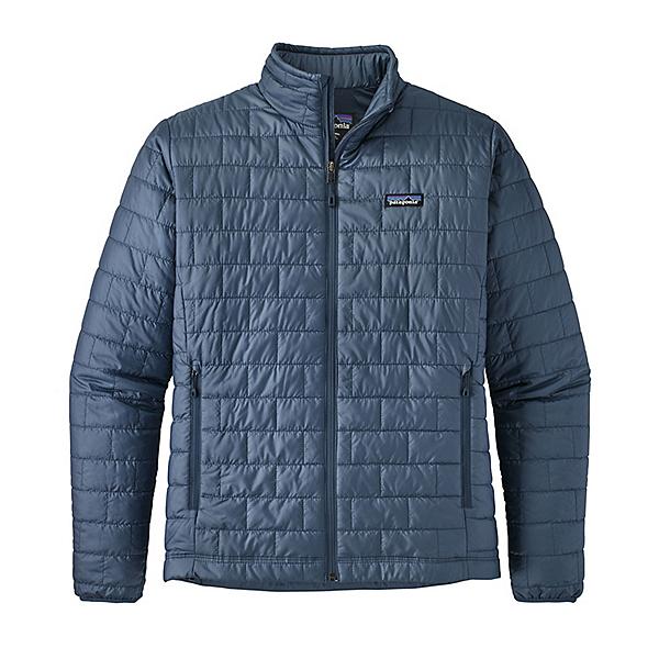 Patagonia Nano Puff Mens Jacket, Dolomite Blue, 600