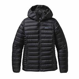 Patagonia Down Sweater Hoody Womens Jacket, Black, 256