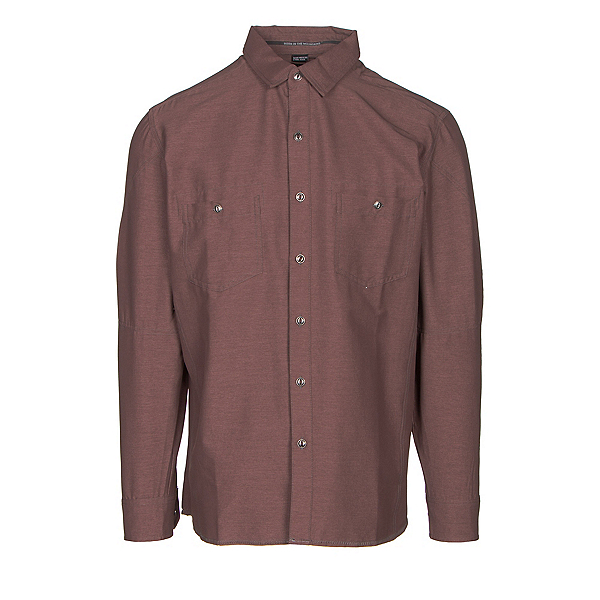 KUHL Renegade Long Sleeve Mens Shirt, Brick, 600