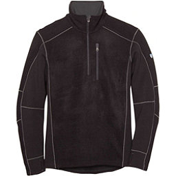 KUHL Interceptr 1/4 Zip Mens Sweater, Black, 256