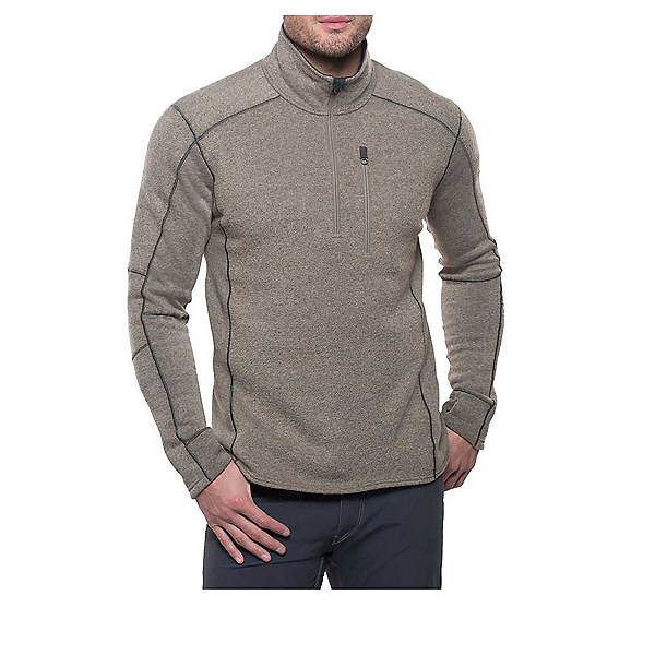 KUHL Interceptr 1/4 Zip Mens Sweater, Oatmeal, 600