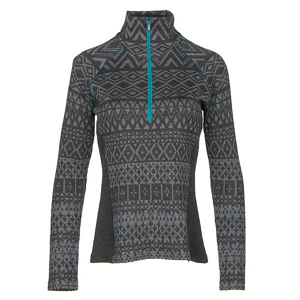 KUHL Adriana 1/2 Zip Womens Sweater, Raven, 600