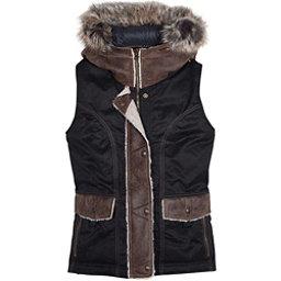 KUHL Arktik Down w/Faux Fur Womens Vest, Raven, 256