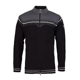 Dale Of Norway Nordlys Masculine Mens Sweater, Black-Off White-Schiefer, 256
