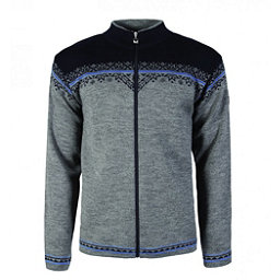 Dale Of Norway Nordlys Masculine Mens Sweater, Smoke-Cobalt-Navy, 256
