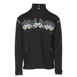 Dale Of Norway Snetind Masculine Mens Sweater, Black-Off White-Cobalt-Smoke, 256