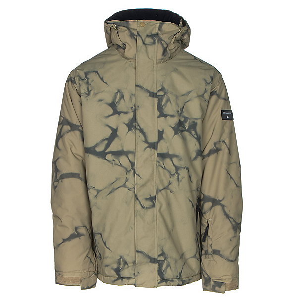 Quiksilver Mission Printed Mens Insulated Snowboard Jacket, , 600