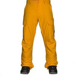 Quiksilver Porter Insulated Mens Snowboard Pants, Cadmium Yellow, 256