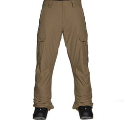 Quiksilver Porter Insulated Mens Snowboard Pants, Elmwood, 256