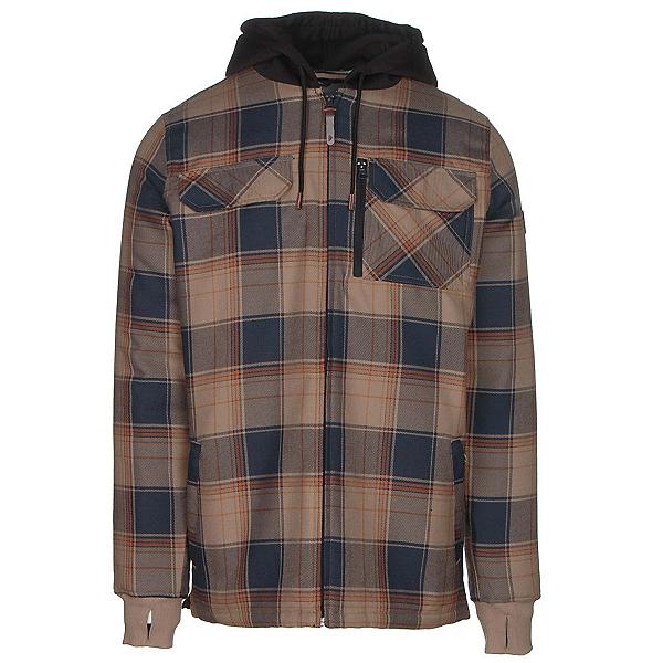 Quiksilver Connector Riding Mens Flannel Shirt, , 600