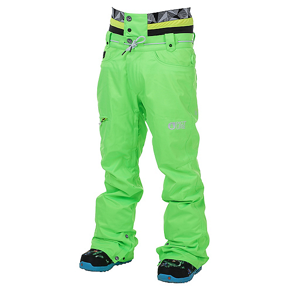 Picture Under Fluo Mens Snowboard Pants, , 600