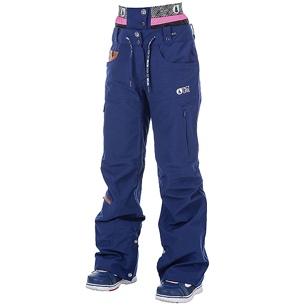 Picture Slany Womens Ski Pants, Dark Blue, 600