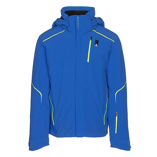Salomon Whitelight Mens Insulated Ski Jacket, Blue Yonder, 600