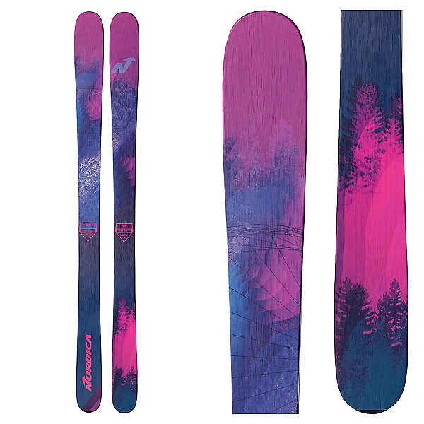 Nordica Santa Ana 93 Womens Skis, , 600