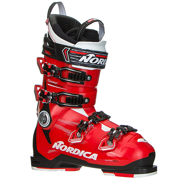 Nordica Speedmachine 130 Ski Boots, Red-Black-White, 600