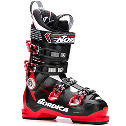 Nordica Speedmachine 110 Ski Boots, Black-Red-White, 256